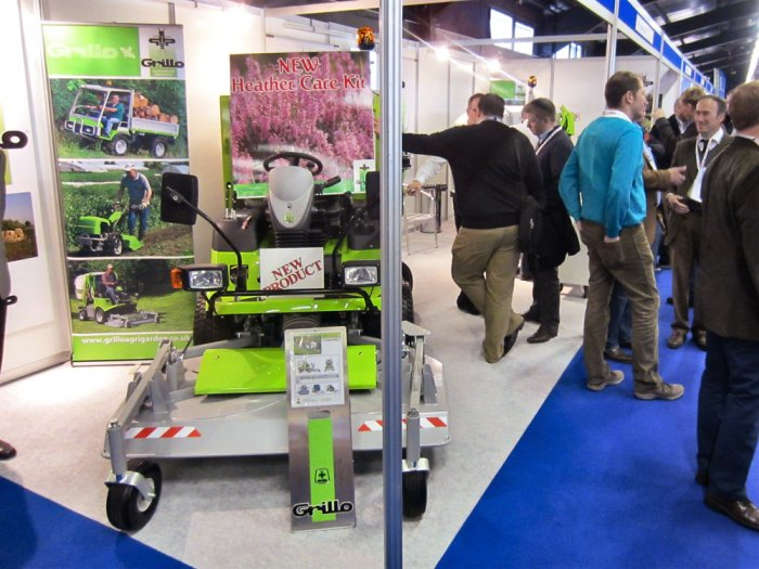 Grillo stand at the BTME & ClubHouse exhibition 2014 - Harrogate (UK)