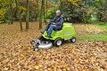 The Grillo FD220 R is ideal for the collection of leaves, too